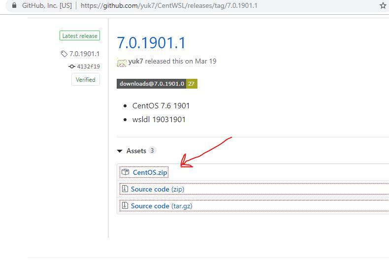在Windows上使用WSL安装卸载Centos